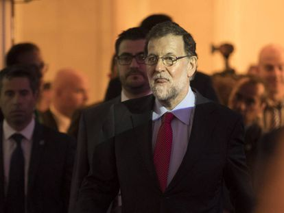 Spanish Prime Minster Mariano Rajoy.