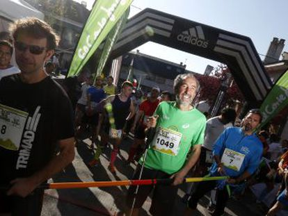 A mountain race designed for people with disabilities.
