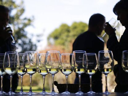 A wine tasting event.
