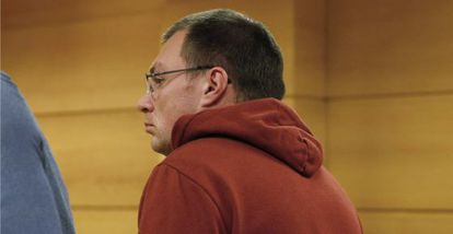 Arthur Budovsky appears in court in Madrid on Monday.