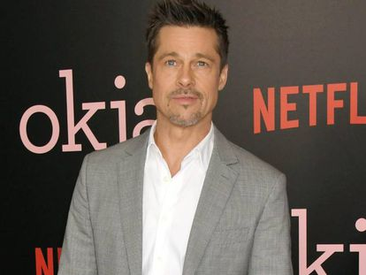 Brad Pitt at the premiere of Okja, which he co-produced, in New York.