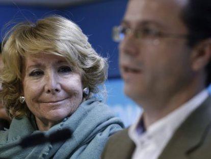 Esperanza Aguirre wants to run for city mayor.