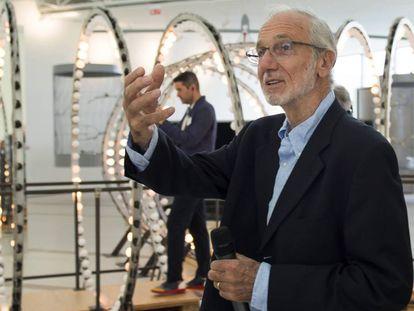 Italian architect Renzo Piano at the Botín Center in Santander, Spain.