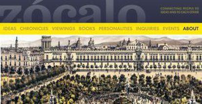 The Zócalo website.