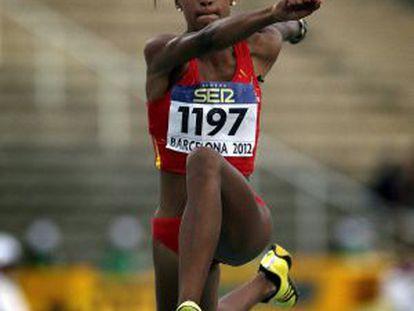 Ana Peleteiro won the junior world championships in triple jump.