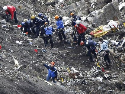Rescue workers have managed to find remains of the 150 people on board the Germanwings flight that crashed on March 24.