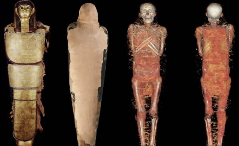The mummy of Nespamedu had a CT scan in 2016.