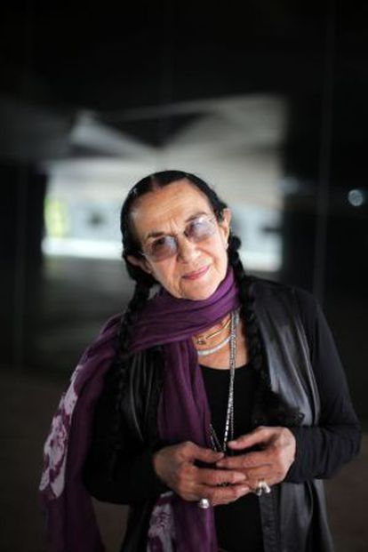 Mary Ellen Mark, pictured this week in Madrid.