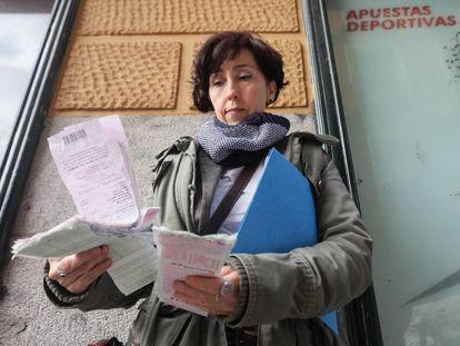 Susana Fonseca, the mother of a gambling addict.