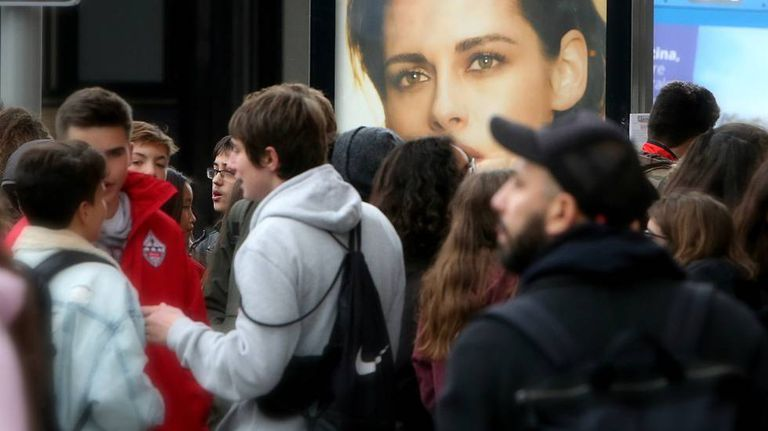 Spanish youths are earning less than a decade ago.