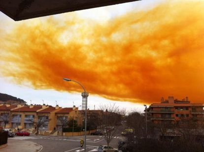 An explosion at a chemical plant in Igualada created a toxic cloud on Thursday.