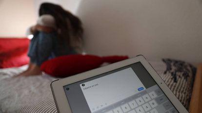 Bullying on social media.