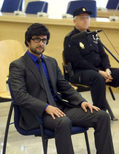Hervé Falciani appeared before the High Court on April 15, 2013.