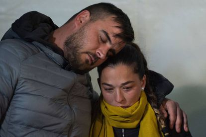 Parents of two-year-old Julen Roselló.