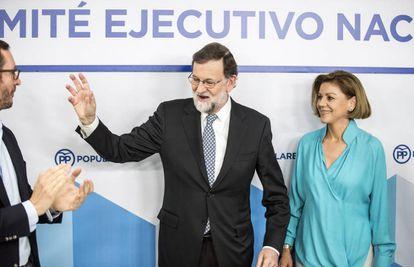Mariano Rajoy on Tuesday morning.