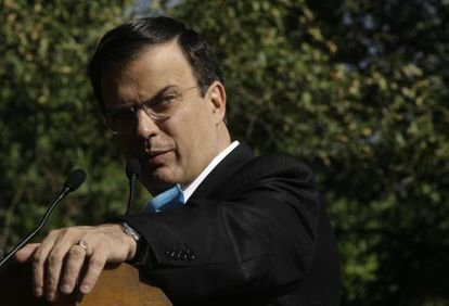 Former Mexico City Mayor Marcelo Ebrard helped ignite debate on Pemex within the PRD.