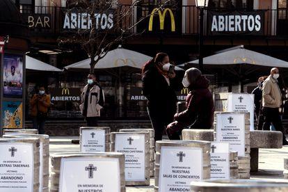 La Asociación de Turismo y Hostelería de Toledo se opone a la falta de asistencia del gobierno en febrero.