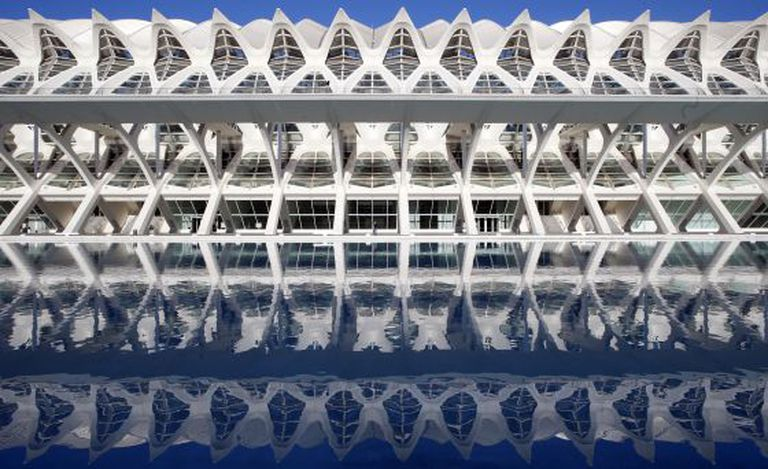 Valencia's City of Arts and Sciences, which for many has become an emblem of the wasteful public spending in the region.