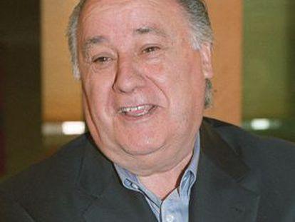 Inditex founder Amancio Ortega.