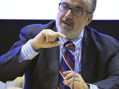 José Juan Ruiz in Madrid last month.