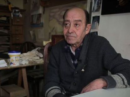 Rafael de la Concepción may live in one of Madrid's most expensive neighborhoods, but his is anything but a life of luxury