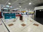 A deserted Gatwick Airport departures lounge on April 8, 2021.