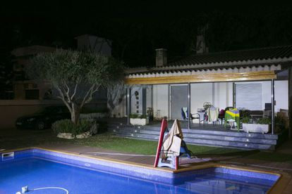 The house in Castelldefels in which the victims were killed by their father.
