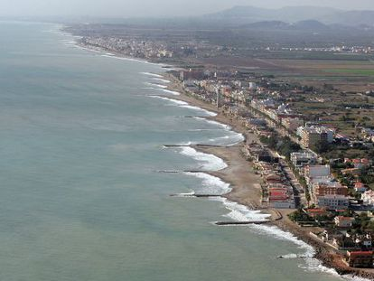 An aerial view of Nules, Monocofrar and Xilxes in Valencia, which could benefit from changes to the Coast Law.