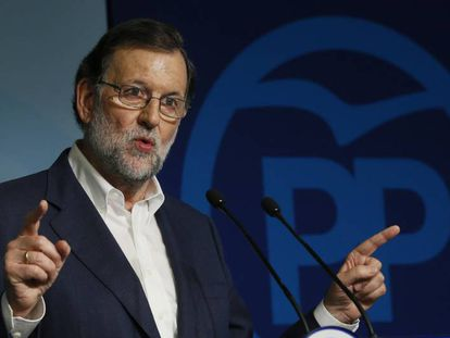 Acting Prime Minister Mariano Rajoy.