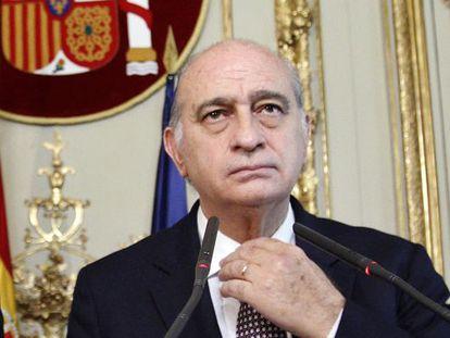 Interior Minister Jorge Fernández Díaz (right) with Justice chief Alberto Ruiz-Gallardón.