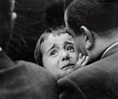 'Angustia', Barcelona, 1961, by Eugeni Forcano.