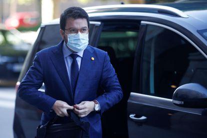 Catalan deputy premier Pere Aragonés, pictured in Barcelona last week.