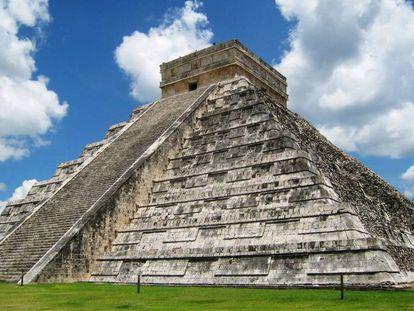 Mexico's 30-meter high Temple of Kukulkan.