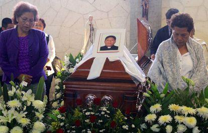 Funeral of Father Alejo Nabor in Puebla.