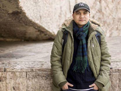 Prakash, from Nepal, spent time inside a CIE.
