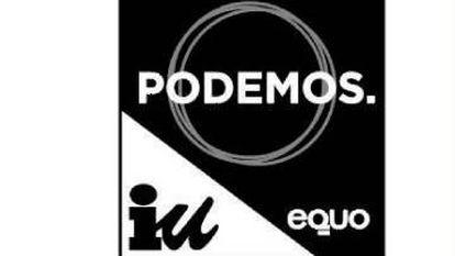 The new Unidos Podemos logo.