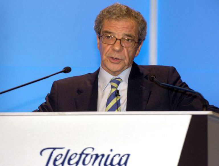 Telefónica Chairman César Alierta.
