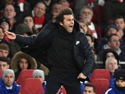 Antonio Conte during his time at Chelsea.