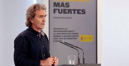 Fernando Simón, head of the Health Alert and Emergency Coordination Center.