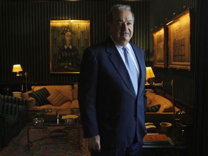 Mexican magnate Carlos Slim, the second richest man in the world.