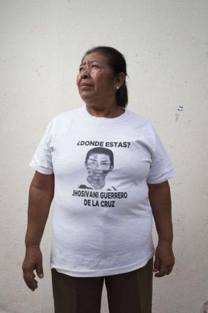 Jhosivani Guerrero de la Cruz's mother, Martina de la Cruz.