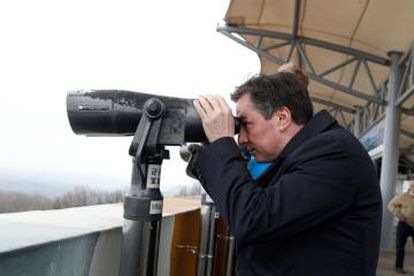EU Foreign Affairs Committee Chair David McAllister on a recent trip to South Korea.