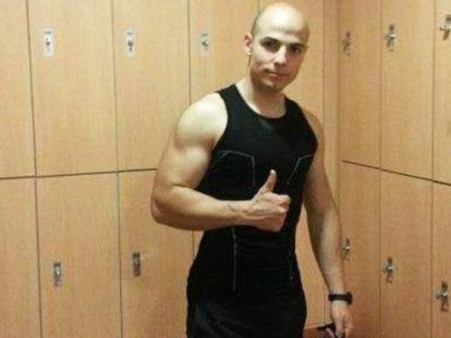 Sergio Morate, the main suspect in the death of two women in Cuenca, in a Facebook photo.