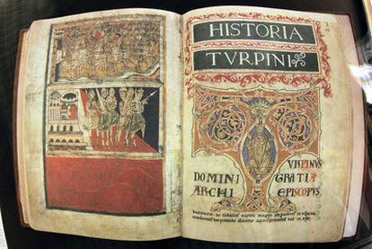 The <i>Codex Calixtinus</i>, stolen from a safe in Santiago Cathedral.