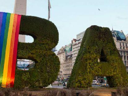 Buenos Aires prepares to celebrate gay pride week.