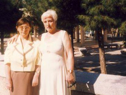 Marta Pajarón and daughter María del Mar.