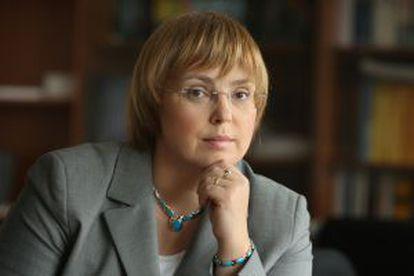Nataša Pirc, a journalist with a background in law.