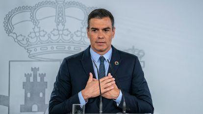 Spanish Prime Minister Pedro Sánchez on Tuesday.