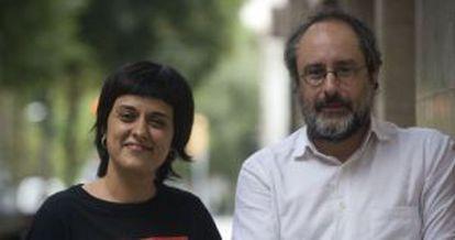 CUP leaders Anna Gabriel and Antonio Baños do not support Artur Mas.