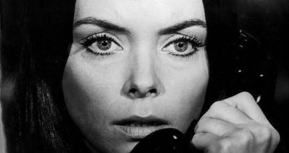 Patty Shepard in La curiosa (1973), directed by Vicente Escrivá.
